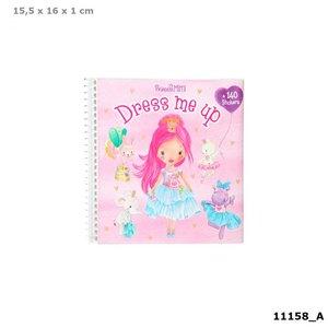 Princess Mimi Dress Me Up stickerboek / TOPModel