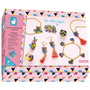 Atelier Bijoux - Geometrische Juwelen sieraden maken (krimpie dinkie) / Janod