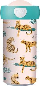 Leopard schoolbeker mepal