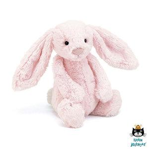 Konijn Bashful Pink Bunny Medium / JellyCat