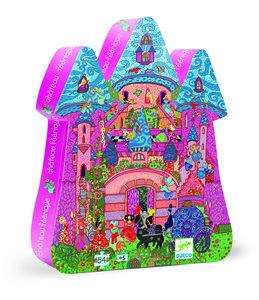 Puzzel Feeën kasteel (54 st.) / Djeco