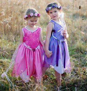 C30423 Fairy Tunic dark set pink great pretenders