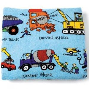 handdoek werkvoertuigen badlaken Tyrrell Katz