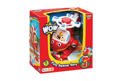 Brandweerhelicopter Rory/WOW Toys 1