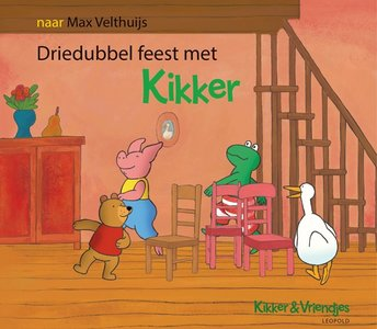 Driedubbel feest met Kikker. 2+ / Max Velthuijs