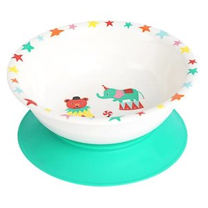 A Day at The Circus melamine kom met zuignap / Ginger