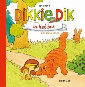 Dikkie Dik in het bos (flapjesboek karton). 1+