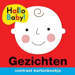 Hallo baby gezichten contrastboekje