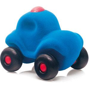 Kleine Politie auto (Blauw) / Rubbabu