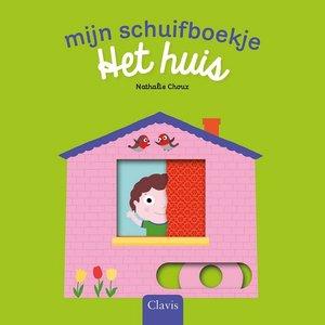 Mijn schuifboekje: Het huis (kartonboek). 1+ / Clavis