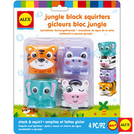 Badspeelgoed Spuitfiguur jungle stapelbaar / Alex 1