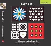 Baby ziet kijkboekje met spiegeltje babyboekje