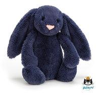 Konijn Bashful Navy Bunny Small